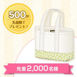 <DDuetポイント交換>【500ポイント消費】ランチトートを先着2,000名様にプレゼント!